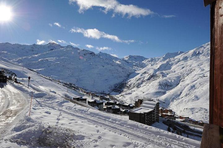 Location au ski Appartement 2 pièces 4 personnes (624) - La Residence Le Necou - Les Menuires - Extérieur hiver