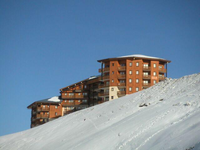Location au ski Studio coin montagne 4 personnes (419) - La Residence Le Necou - Les Menuires - Lits superposés
