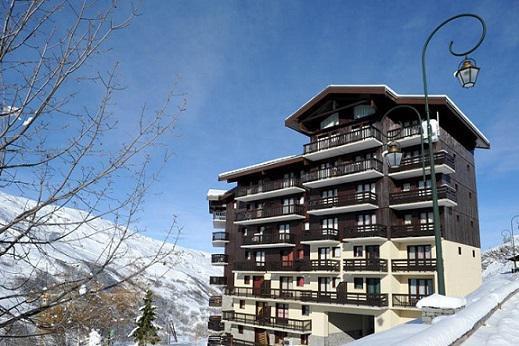 Location au ski La Residence Les Balcons D'olympie - Les Menuires - Extérieur hiver