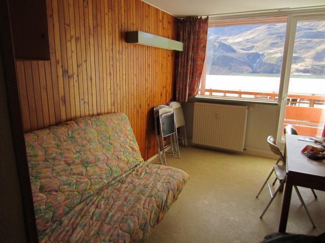 Location au ski Appartement duplex 2 pièces 5 personnes (C14) - La Residence Les Lauzes - Les Menuires - Coin séjour