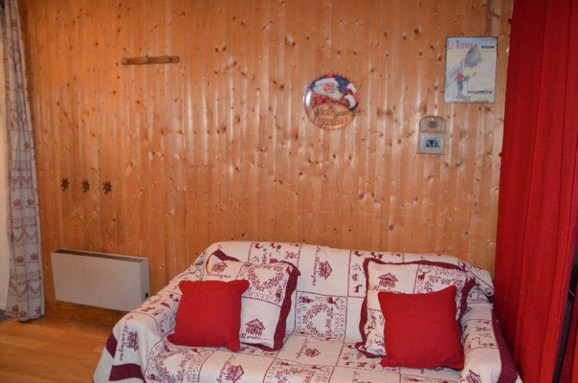 Location au ski Studio coin montagne 4 personnes (68) - La Residence Les Melezes - Les Menuires