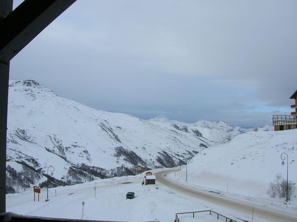 Location au ski Studio coin montagne 4 personnes (524) - La Residence Median - Les Menuires - Extérieur hiver