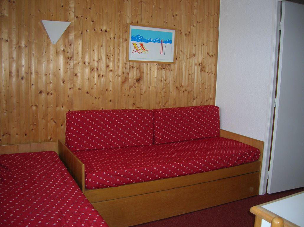 Location au ski Studio coin montagne 4 personnes (524) - La Residence Median - Les Menuires - Séjour