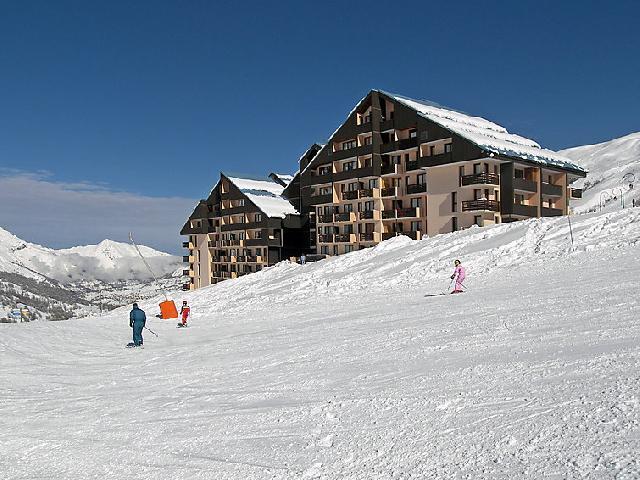 Location au ski Appartement 1 pièces 3 personnes (1) - Le Sarvan - Les Menuires - Extérieur hiver