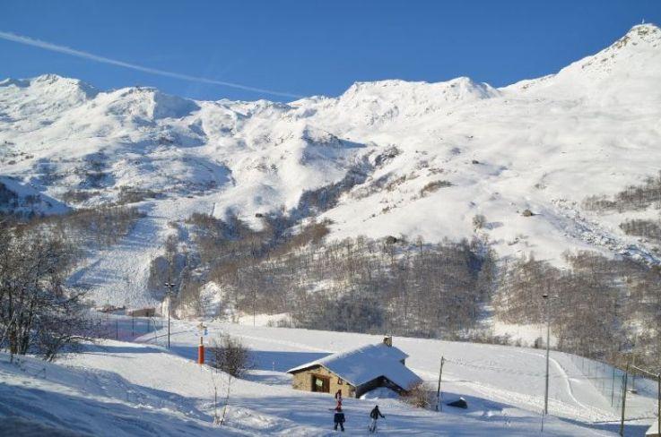Ski en février Les Balcons D'olympie