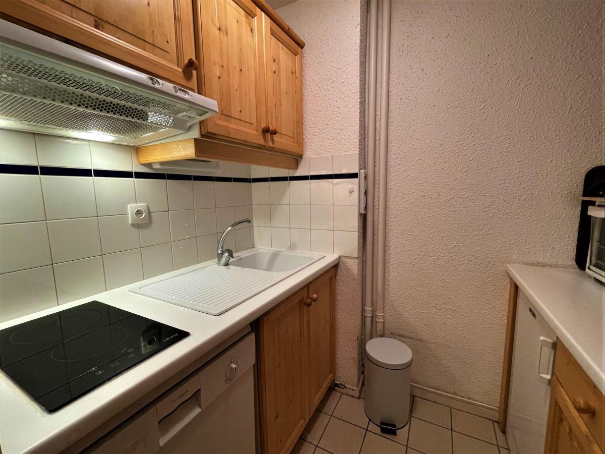 Location au ski Appartement 2 pièces 6 personnes (518) - Residence Aravis - Les Menuires - Lavabo