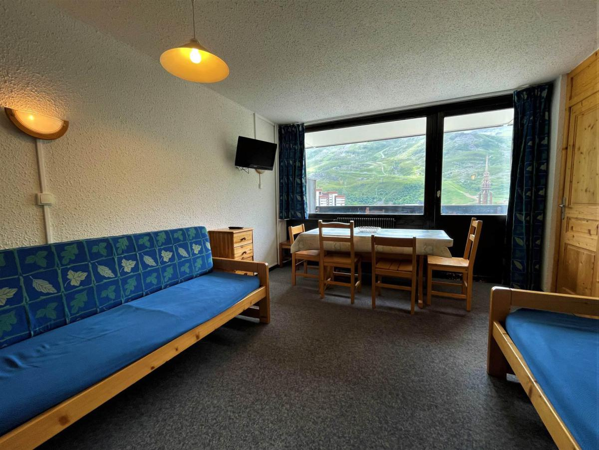 Location au ski Appartement 2 pièces 6 personnes (518) - Residence Aravis - Les Menuires - Séjour