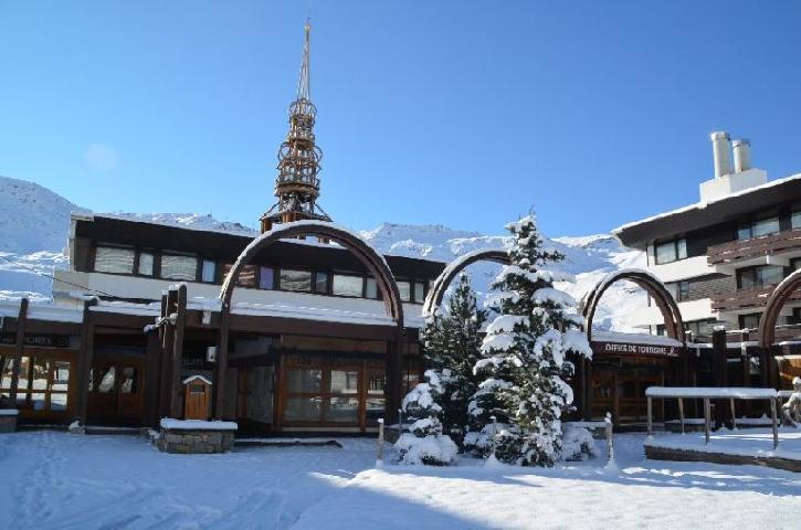 Location au ski Appartement 2 pièces 6 personnes (11) - Residence Belledonne - Les Menuires - Extérieur hiver