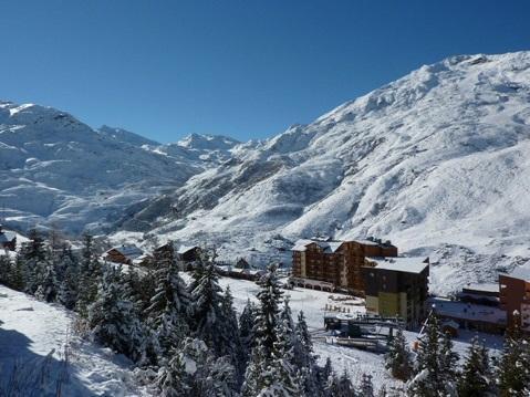 Location au ski Studio 4 personnes (517) - Residence Boedette - Les Menuires - Extérieur hiver