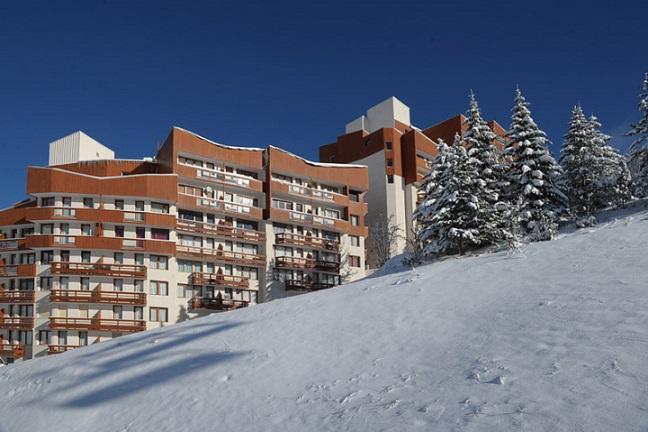 Location au ski Studio 4 personnes (407) - Residence Boedette - Les Menuires - Extérieur hiver