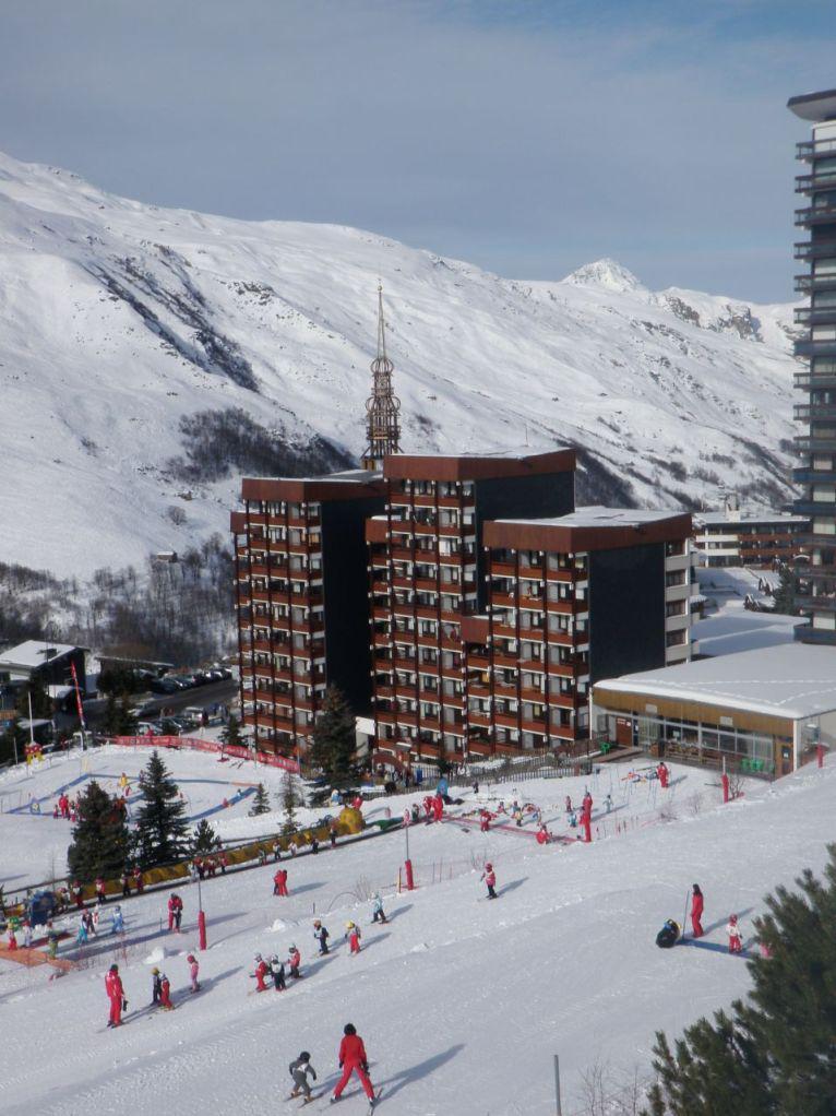Location au ski Studio 3 personnes (11) - Residence Charmette - Les Menuires