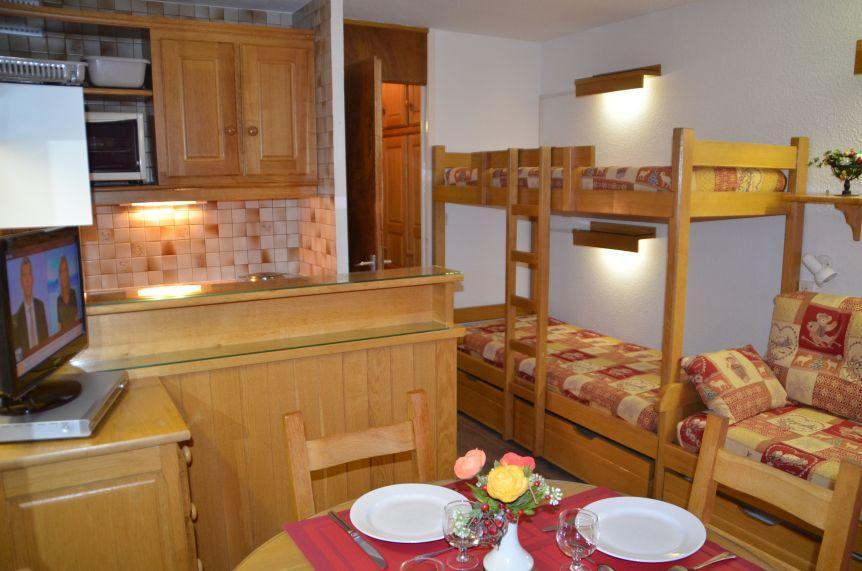 Location au ski Studio 3 personnes (810) - Residence Combes - Les Menuires