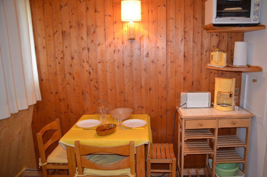 Location au ski Studio 2 personnes (744) - Residence Combes - Les Menuires - Séjour