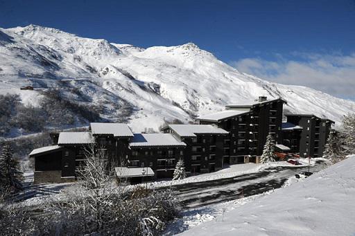Location au ski Residence Jettay - Les Menuires - Extérieur hiver