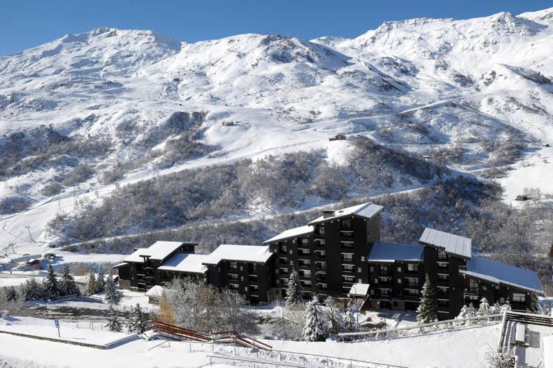 Location au ski Appartement duplex 4 pièces 8 personnes (93) - Residence Jettay - Les Menuires - Extérieur hiver