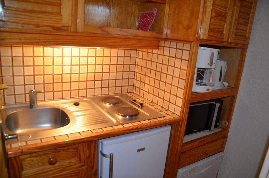 Location au ski Appartement 2 pièces 6 personnes (A7) - Residence Le Jettay - Les Menuires - Kitchenette