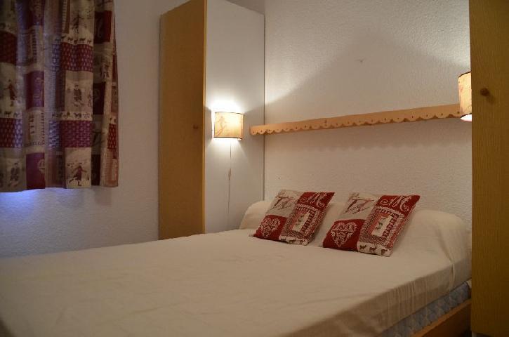 Location au ski Appartement 2 pièces coin montagne 4 personnes (C113) - Residence Le Jettay - Les Menuires - Lit double