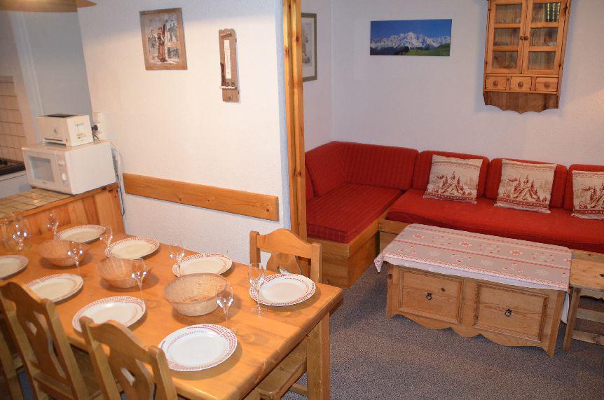 Location au ski Appartement 2 pièces mezzanine 7 personnes (C136) - Residence Le Jettay - Les Menuires - Kitchenette