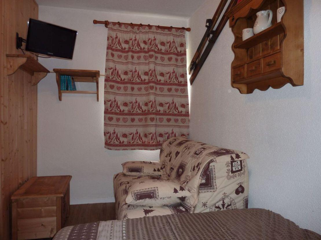 Location au ski Appartement 1 pièces 4 personnes (B77) - Residence Le Jettay - Les Menuires - Plan