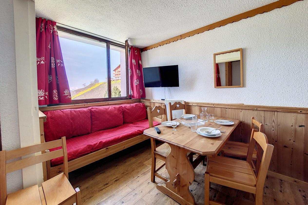 Location au ski Appartement 1 pièces 4 personnes (216) - Residence Le Median - Les Menuires - Chambre