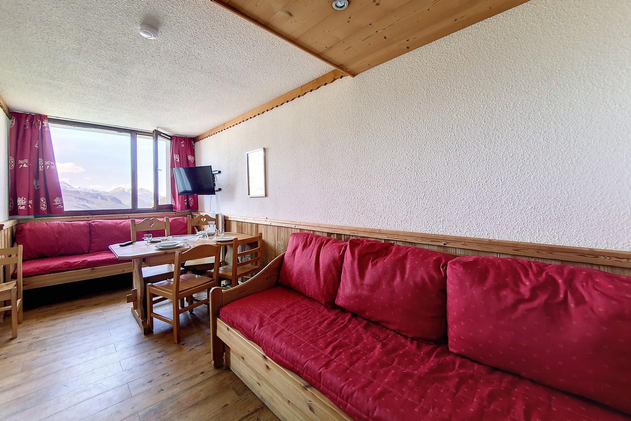 Location au ski Appartement 1 pièces 4 personnes (216) - Residence Le Median - Les Menuires - Kitchenette