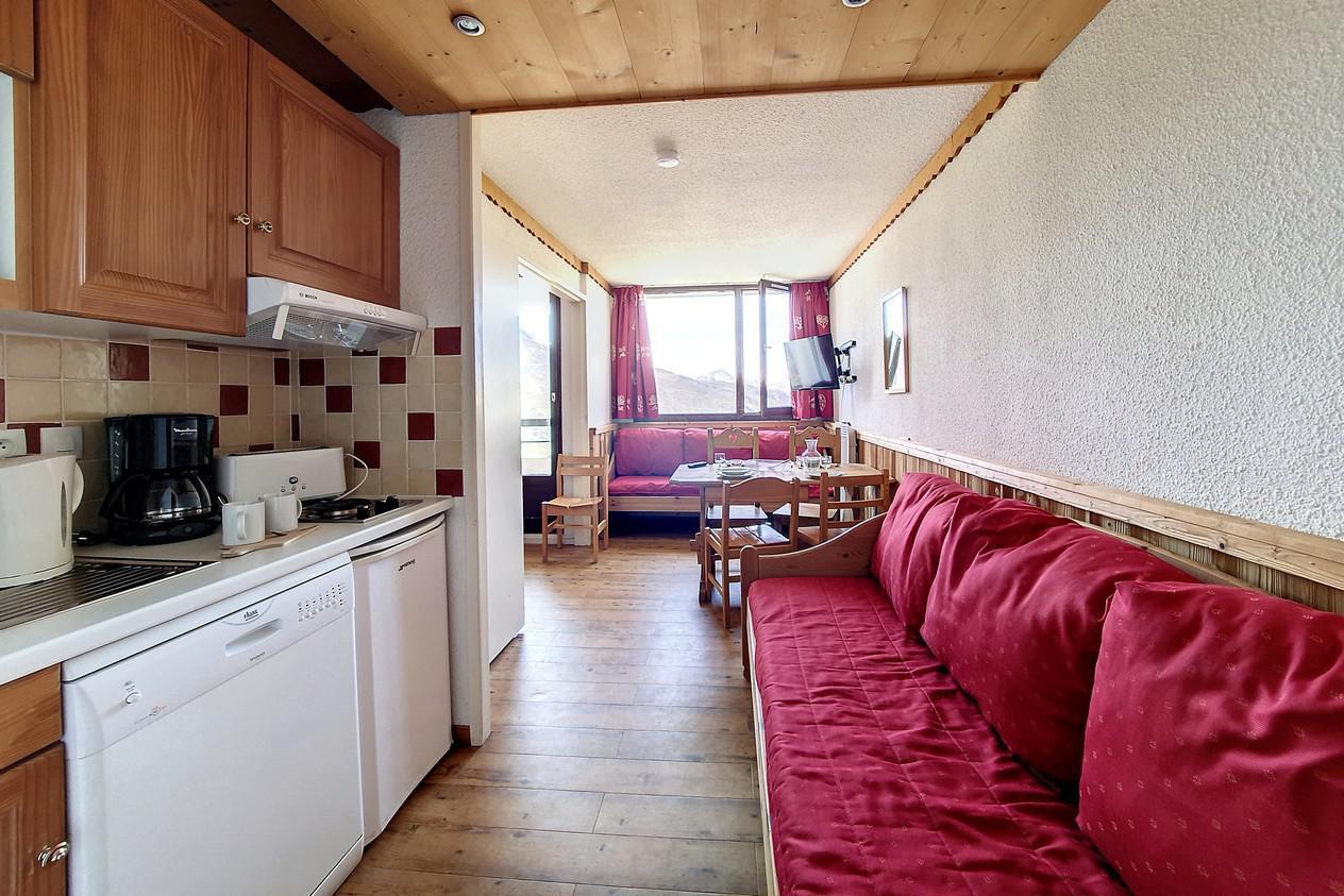 Location au ski Appartement 1 pièces 4 personnes (216) - Residence Le Median - Les Menuires - Salle de bains
