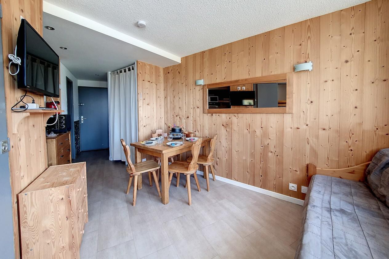 Location au ski Appartement 2 pièces 4 personnes (215) - Residence Le Median - Les Menuires - Chambre