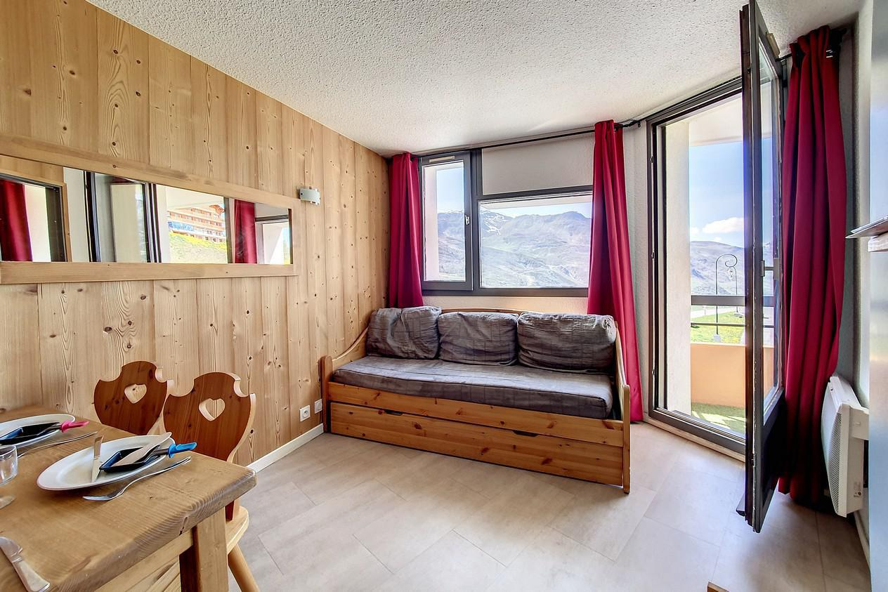 Location au ski Appartement 2 pièces 4 personnes (215) - Residence Le Median - Les Menuires - Kitchenette