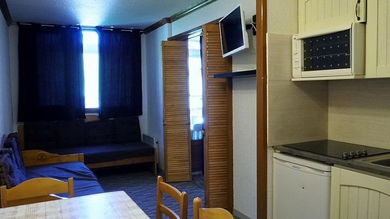 Location au ski Appartement 2 pièces 4 personnes (217) - Residence Le Median - Les Menuires - Kitchenette
