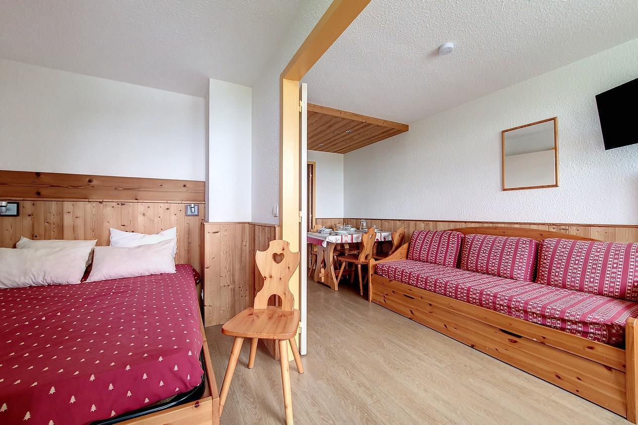 Location au ski Appartement 2 pièces 4 personnes (218) - Residence Le Median - Les Menuires - Kitchenette