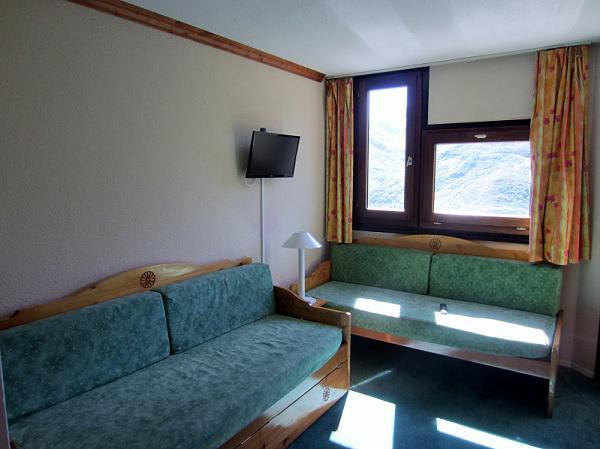 Location au ski Appartement 2 pièces 4 personnes (302) - Residence Le Median - Les Menuires - Canapé