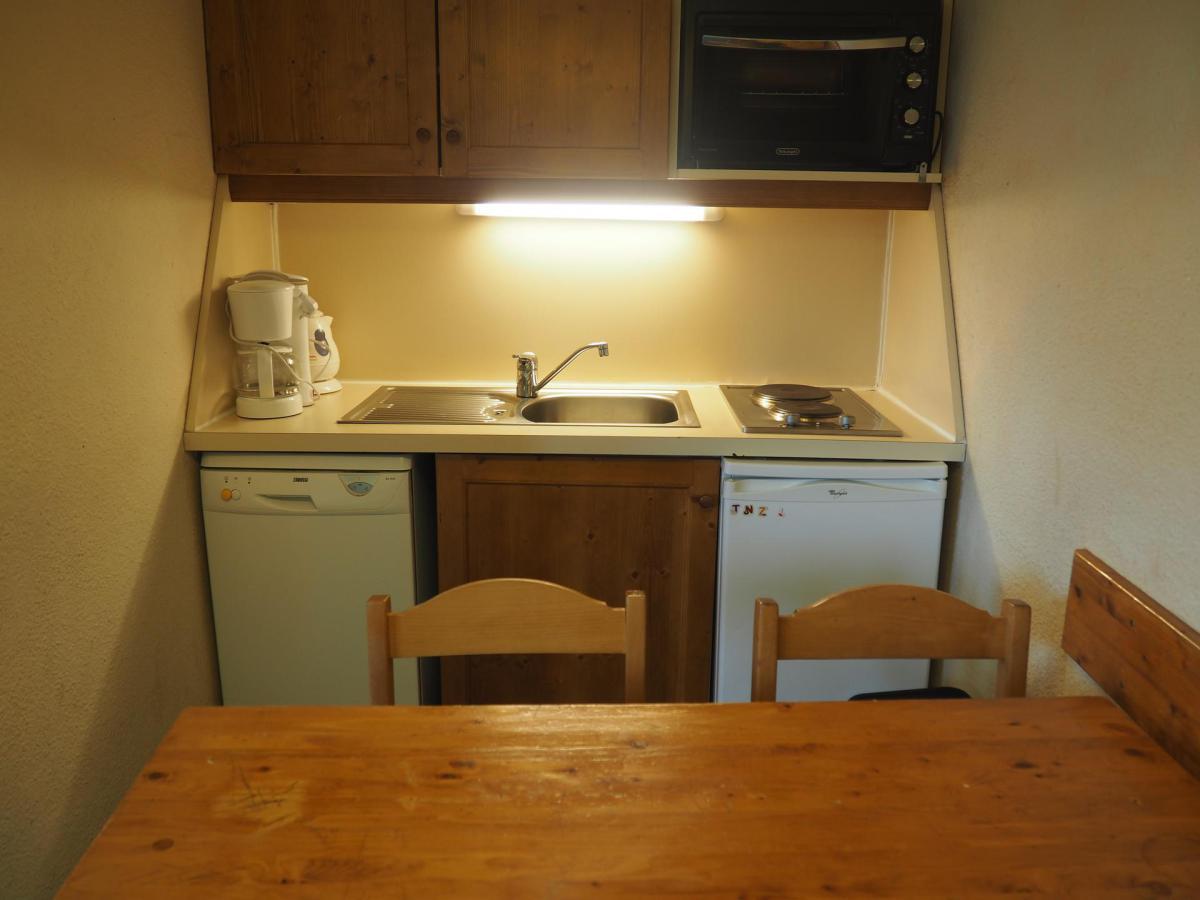 Location au ski Appartement 2 pièces 4 personnes (302) - Residence Le Median - Les Menuires - Kitchenette