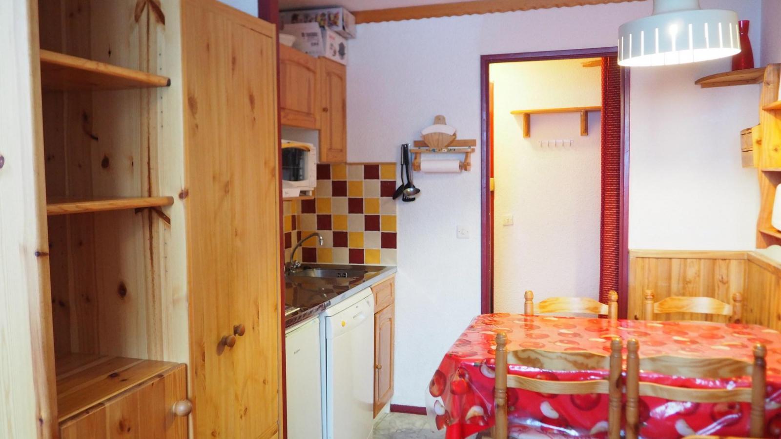 Location au ski Appartement 2 pièces 4 personnes (521) - Residence Le Median - Les Menuires - Kitchenette