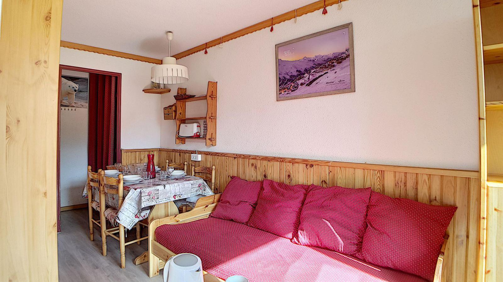 Location au ski Appartement 2 pièces 4 personnes (521) - Residence Le Median - Les Menuires - Extérieur hiver