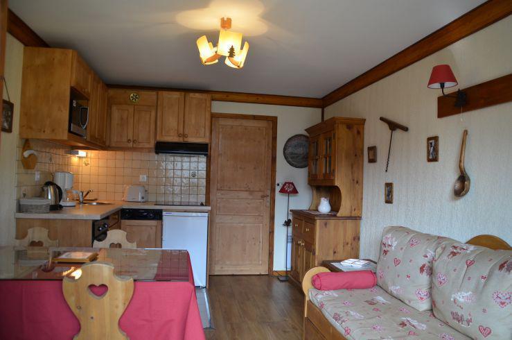 Location au ski Appartement 2 pièces 4 personnes (1010) - Residence Le Valmont - Les Menuires - Séjour