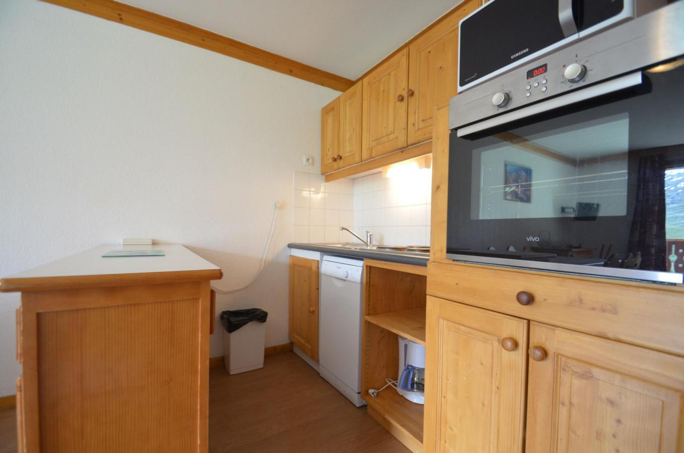 Location au ski Appartement 4 pièces 8 personnes (915) - Residence Le Valmont - Les Menuires - Lavabo