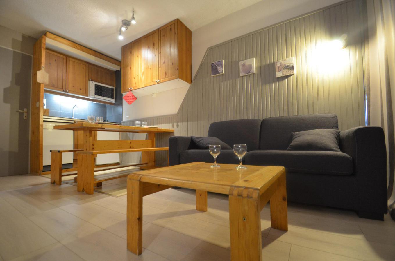 Location au ski Studio 2 cabines 4 personnes (205) - Residence Le Villaret - Les Menuires - Salle de bains