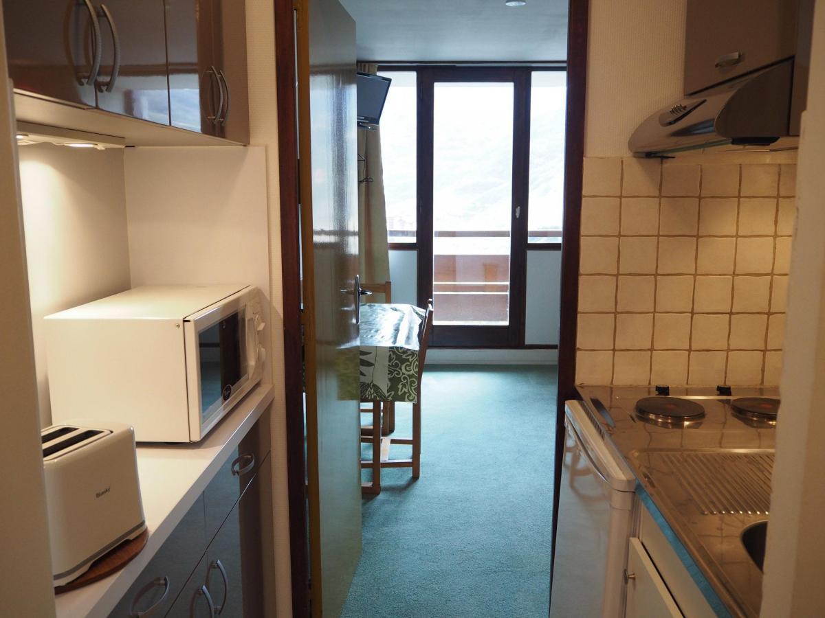 Location au ski Studio 3 personnes (602) - Residence Les Alpages - Les Menuires - Salle de bains