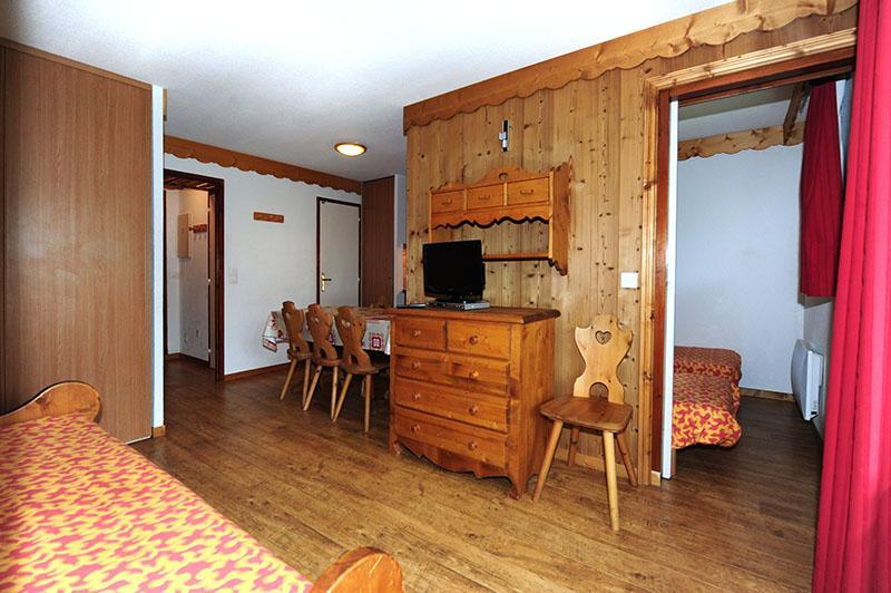 Location au ski Appartement 2 pièces cabine 6 personnes (428) - Residence Les Balcons D'olympie - Les Menuires