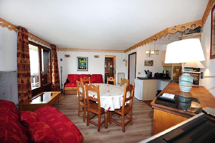Location au ski Appartement 2 pièces 8 personnes (319) - Residence Les Balcons D'olympie - Les Menuires - Séjour