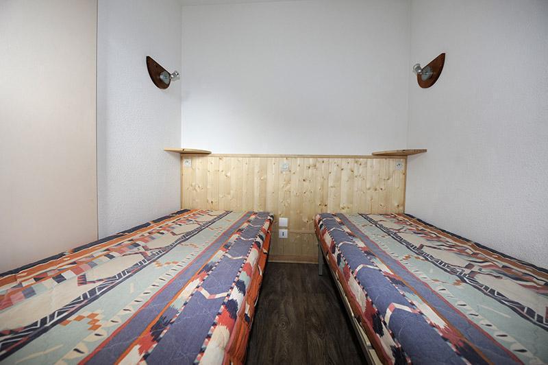 Location au ski Appartement 2 pièces cabine 6 personnes (535) - Residence Les Balcons D'olympie - Les Menuires - Lit simple
