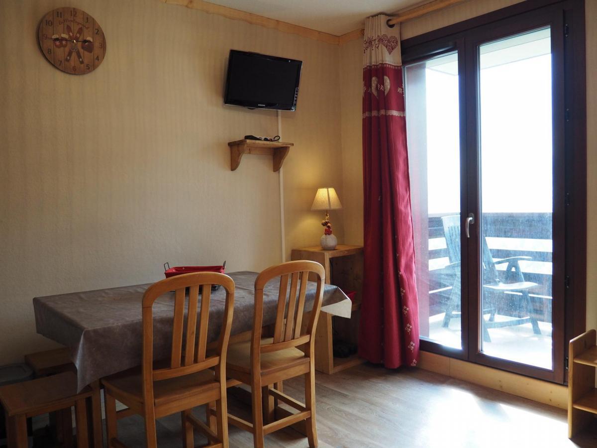 Location au ski Residence Les Balcons D'olympie - Les Menuires - Extérieur hiver