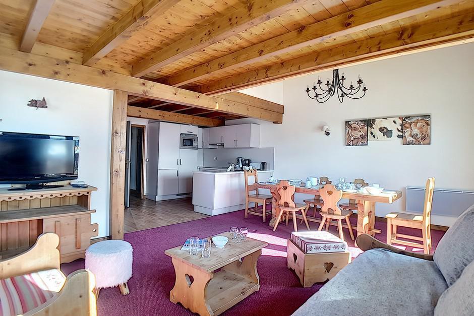 Location au ski Appartement 4 pièces 8 personnes (25) - Residence Les Cristaux - Les Menuires