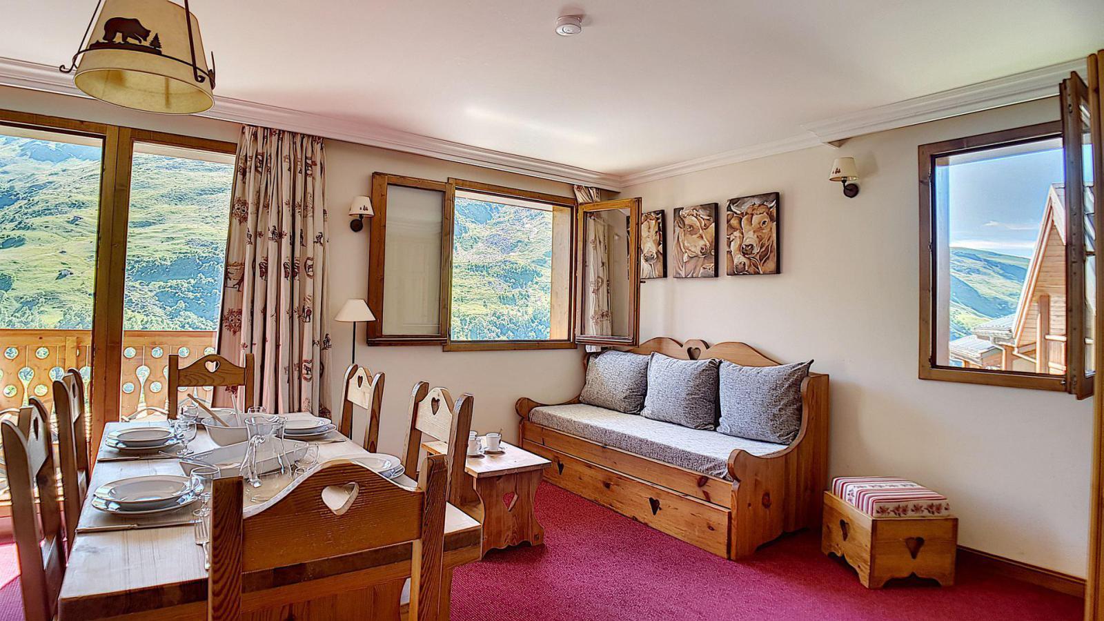Location au ski Appartement 3 pièces 6 personnes (3) - Residence Les Cristaux - Les Menuires - Lit double