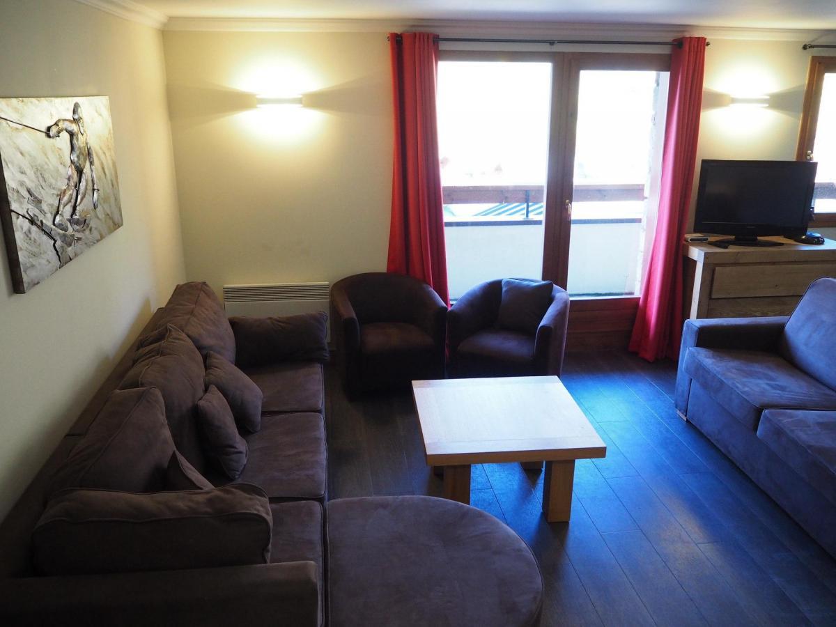 Location au ski Appartement 5 pièces 10 personnes (21) - Residence Les Cristaux - Les Menuires - Coin séjour