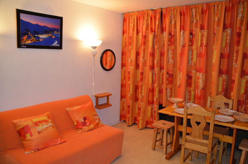 Location au ski Studio 2 personnes (1102) - Residence Les Dorons - Les Menuires - Kitchenette