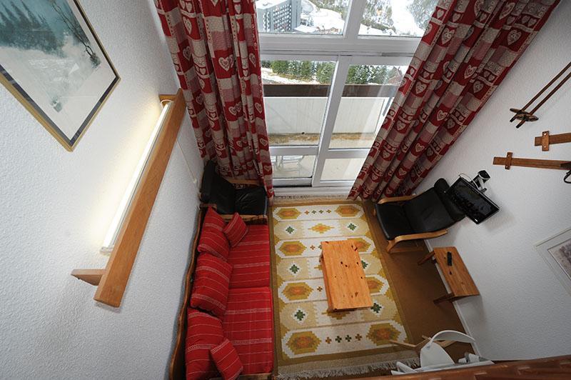 Location au ski Appartement duplex 2 pièces mezzanine 5 personnes (606) - Residence Les Evons - Les Menuires - Mezzanine