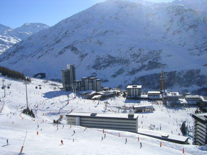 Location au ski Appartement 2 pièces 6 personnes (922) - Residence Nant Benoit - Les Menuires - Extérieur hiver