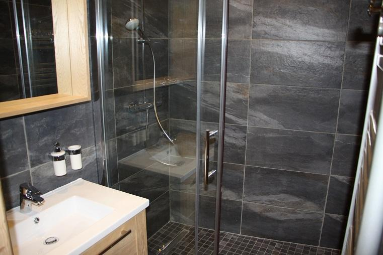 Location au ski Appartement 2 pièces cabine 4 personnes (104) - Residence Soldanelles - Les Menuires - Salle de bains