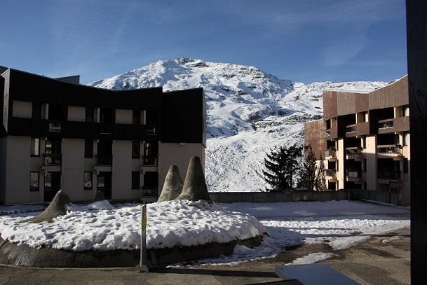 Location au ski Appartement 2 pièces cabine 4 personnes (104) - Residence Soldanelles - Les Menuires - Extérieur hiver